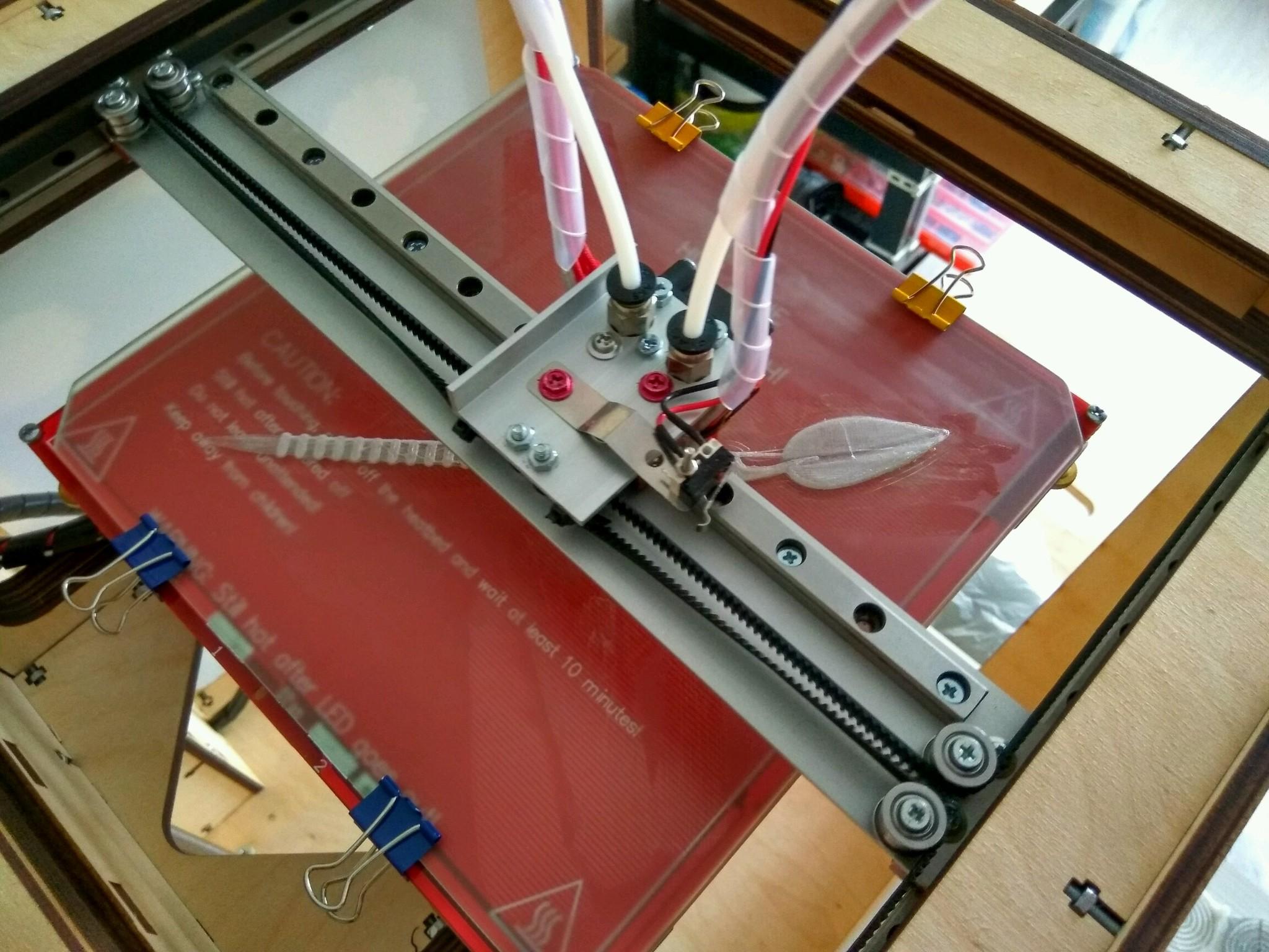 3d принтер на рельсах своими руками
