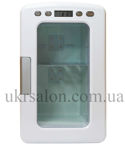 Мини холодильник для косметики 10L с дисплеем
