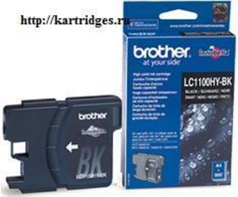 Картридж Brother LC1100HYBK