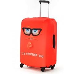 чехол для чемодана «я слежу за тобой»