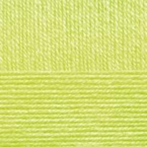 Купить Пряжа Пехорка Детская новинка Код цвета 483-Незрелый лимон | Интернет-магазин пряжи «Пряха»