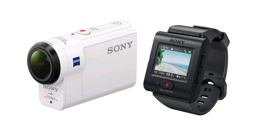 Экшн-камера Sony HDR-AS300R камера и пульт ДУ