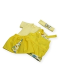 Летний комплект - Желтый. Одежда для кукол, пупсов и мягких игрушек.
