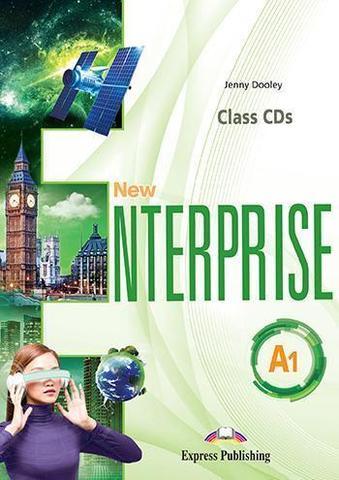 New Enterprise A1. Class Cds (Set Of 4) (International). Аудио CD для работы в классе (4 шт).