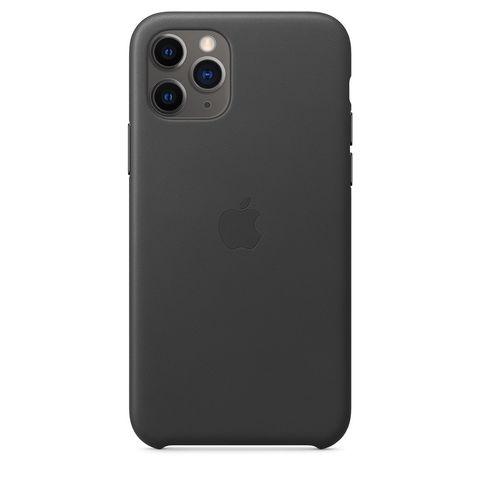 Чехол iPhone 11 good Leather Case /black/