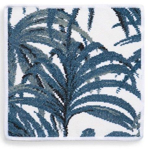 Элитная салфетка шенилловая Palmeral Azur 12 weis от Feiler