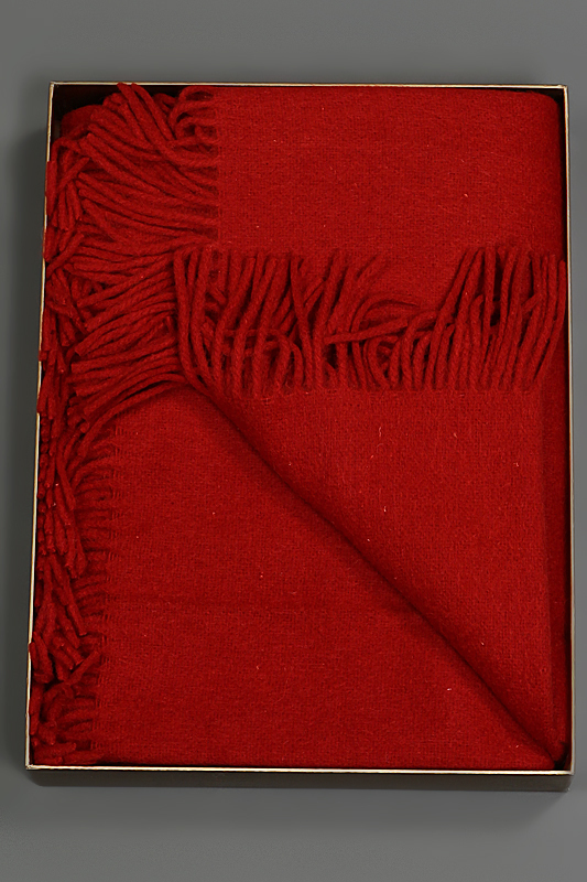 Плед 150х200 Galata от Hamam красный