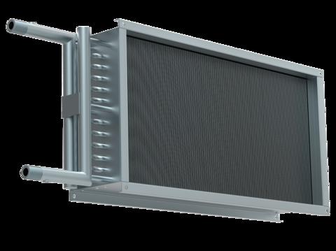 Водяной нагреватель для прямоугольных каналов WHR 800*500-2