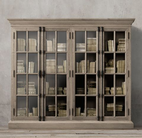 French Casement 4-Door Cabinet