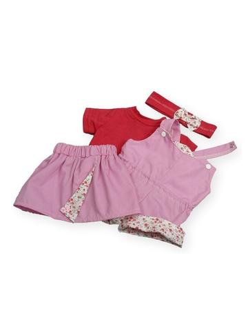 Летний комплект - Розовый. Одежда для кукол, пупсов и мягких игрушек.