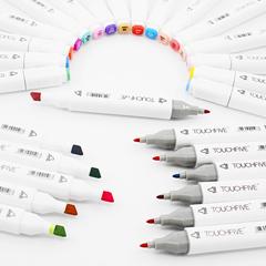 Набор двусторонних спиртовых маркеров Touch Five, уценка