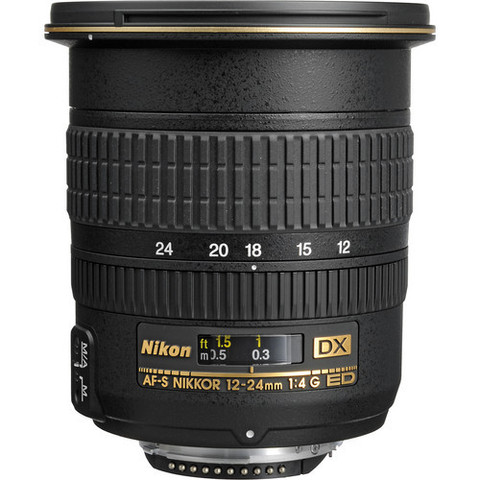 Объектив Nikon AF-S DX 12-24mm f/4G ED IF Black для Nikon