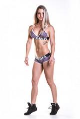 Спортивные шорты Nebbia Fitness shorts with hem 266 purple