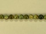 Бусина из яшмы риолит, шар гладкий 6мм