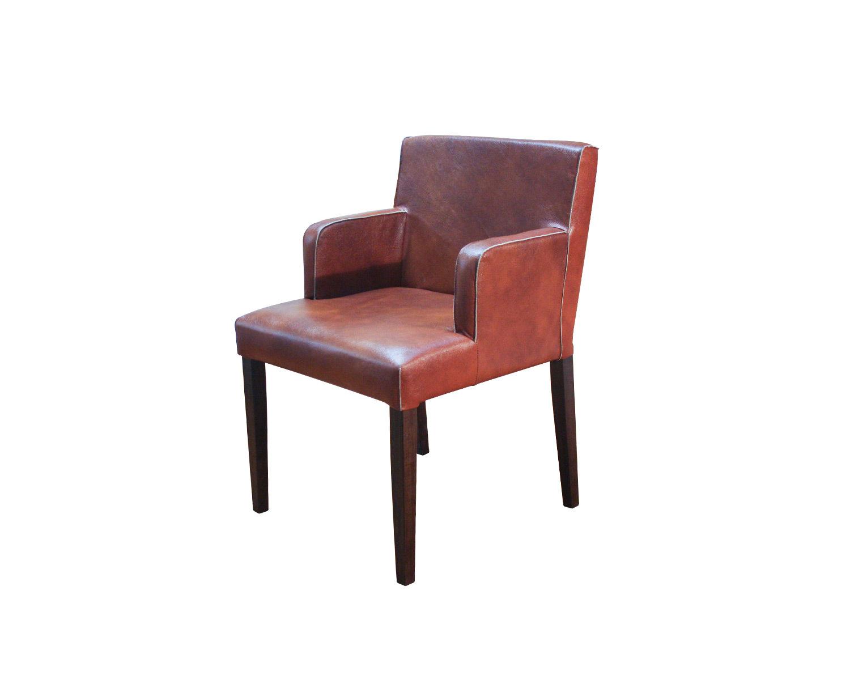 Кресло Тина, обивка натуральная кожа