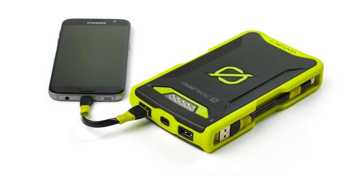 Зарядное устройство Goal Zero Venture 70 Solar Recharger (micro-USB/lightning) зарядка смартфона