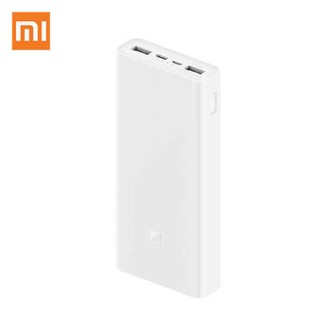 XiaoMI Power Bank3 20000 Mh 2 USB /white/ USB-C Two-way fast charge