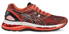 Женские кроссовки для бега Asics Gel-Nimbus 19 T750N 9093 оранжевые