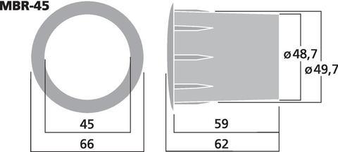 Фазоинвертор MBR-45
