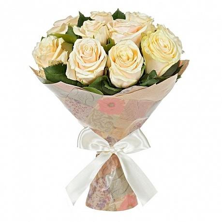 Цветы 15 кремовых роз 15_крем_роз.jpg