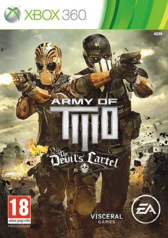 Xbox 360 Army of Two: The Devil's Cartel (английская версия)