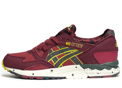Кроссовки мужские Asics GEL LYTE V Cherry Green Yellow