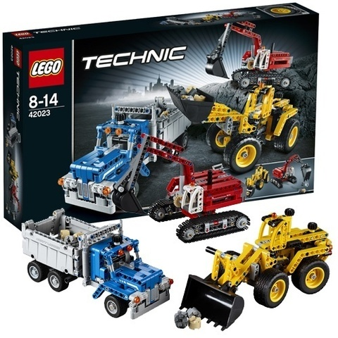 LEGO Technic: Строительная команда 42023