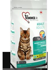 First (1st) Choice Контроль веса для стерилизованных и склонных к полноте кошек