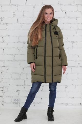 Куртка 2в1 для беременных 10839 хаки