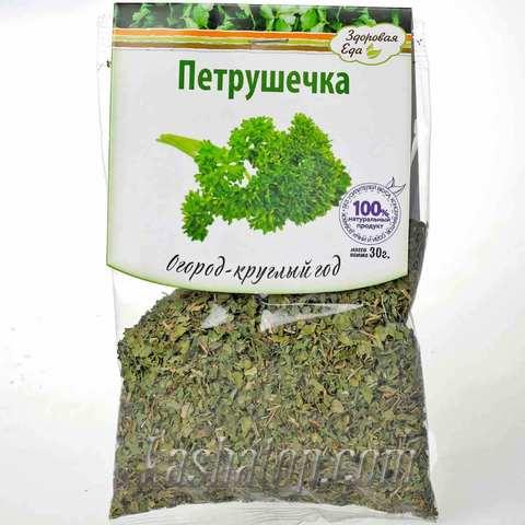 Зелень петрушки сушёная 'Здоровая еда', 30г