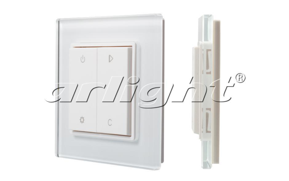 Панель Alright Knob SR-2833RGB-RF-UP White (3V,RGBW,1зона)