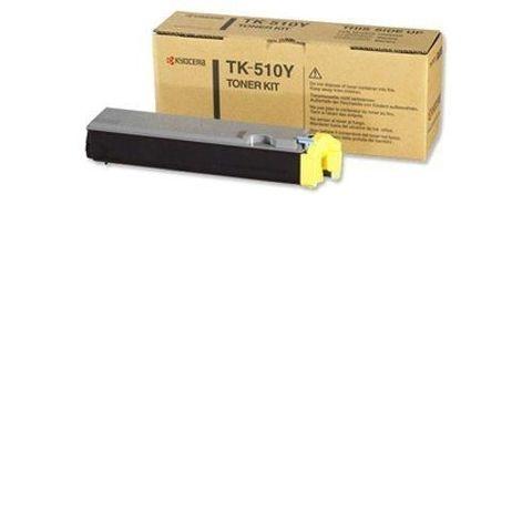 Kyocera TK-510Y Тонер для FS-C5020/5025N/5030N Yellow (8 000 стр. При 5% заполнении)