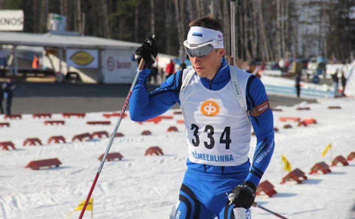 Лыжный трикотажный гоночный комбинезон Noname Dragos (680082) синий фото