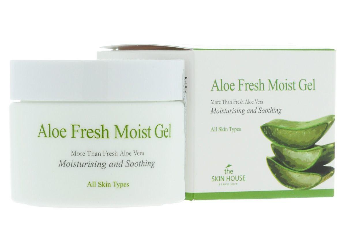 Крем гель для лица с экстрактом алоэ The Skin House Aloe Fresh