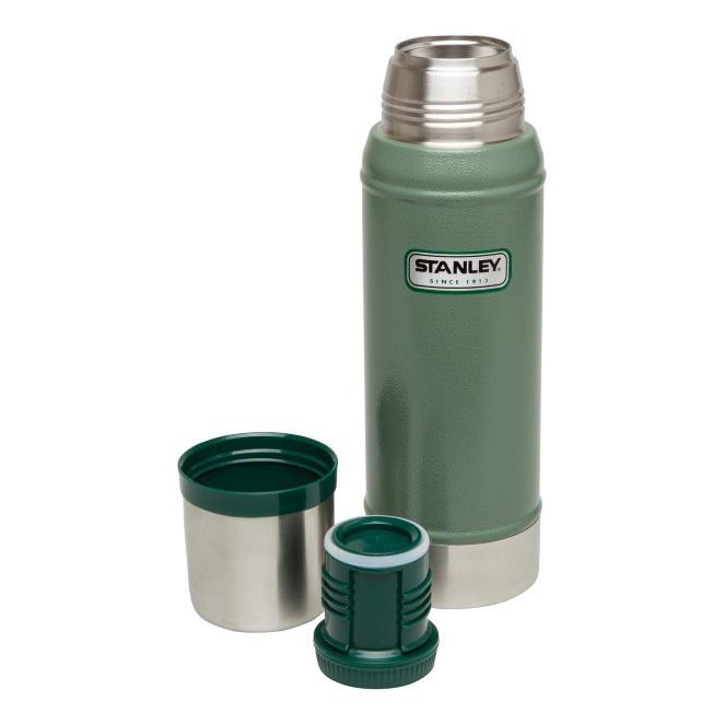 Термос STANLEY Classic Vacuum Bottle 0.75L Зеленый