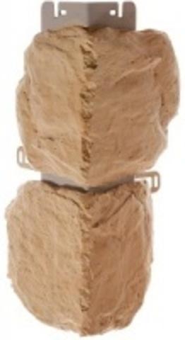 Наружный угол Альта профиль Бутовый камень Греческий 440х180 мм