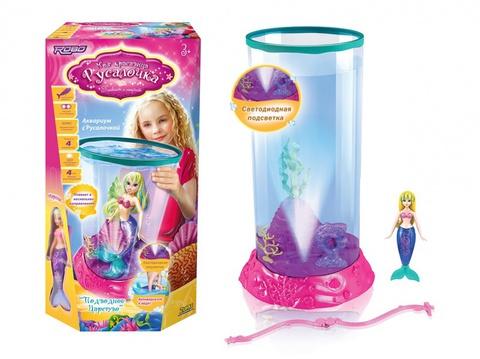 Игровой набор Подводное царство: аквариум с декоративными элементами + Моя Красавица Русалочка Марина (2591)