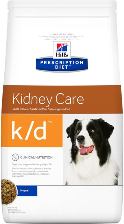 Сухой корм Ветеринарный корм для собак Hill`s Prescription Diet k/d Kidney Care, с заболеваниями почек кд.png