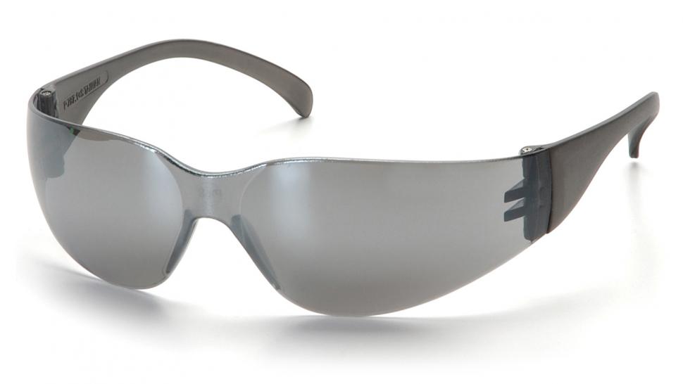 Очки баллистические стрелковые Pyramex Intruder S4170S зеркально-серые 16%