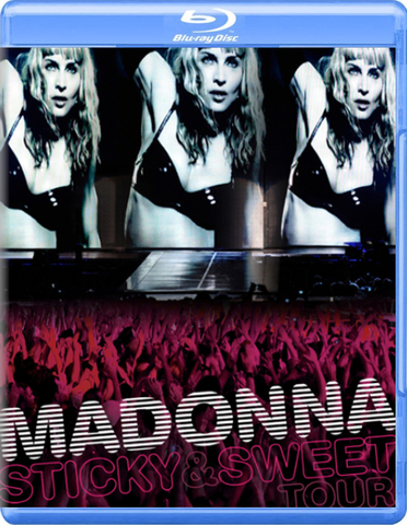Madonna / Sticky & Sweet Tour (RU)(Blu-ray)