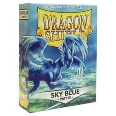 Dragon Shield - Небесно-голубые матовые протекторы 60 штук