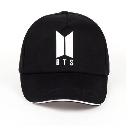 Кепка BTS (Бейсболка БТС) черная