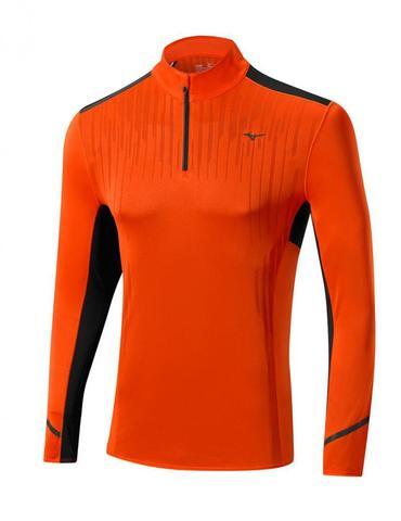 Мужская беговая рубашка с замком Mizuno DryLite Premium Tee (J2GA5513 55)