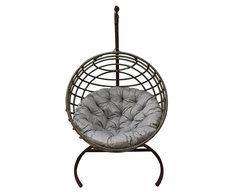 Кресло качели Мачете бежево-коричневые