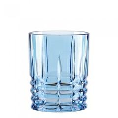 Синий хрустальный стакан для виски HIGHLAND, 345 мл