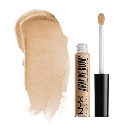 NYX Кремовый хайлайтер для лица Away We Glow Liquid Highlighter