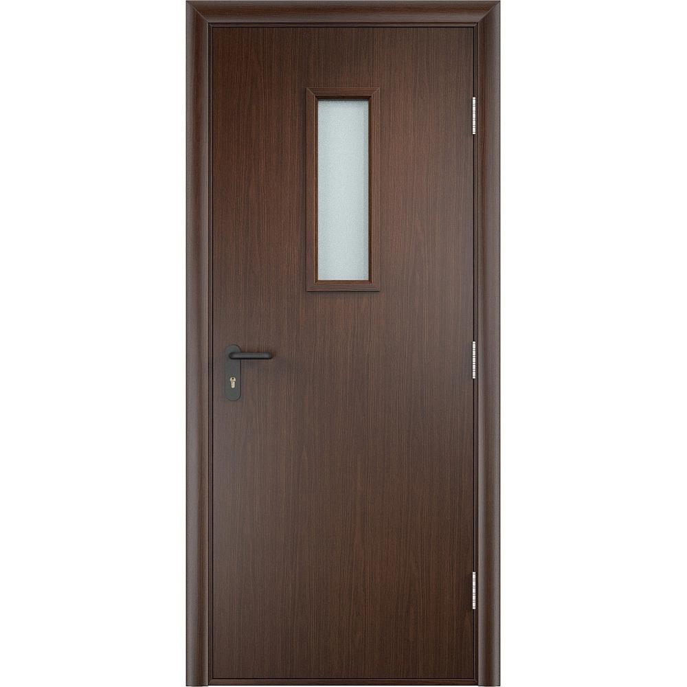 Противопожарные двери ДПО ПВХ-плёнка венге protivopozharnye-dpo-steklo-ogneupornoe-pvkh-venge-dvertsov.jpg