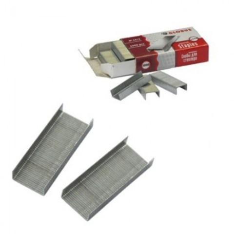 Скобы для степлера № 10 GLOBUS, оцинкованные 1000 шт в упаковке