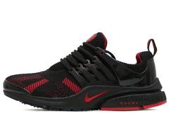 Кроссовки Мужские Nike Air Presto Black Red