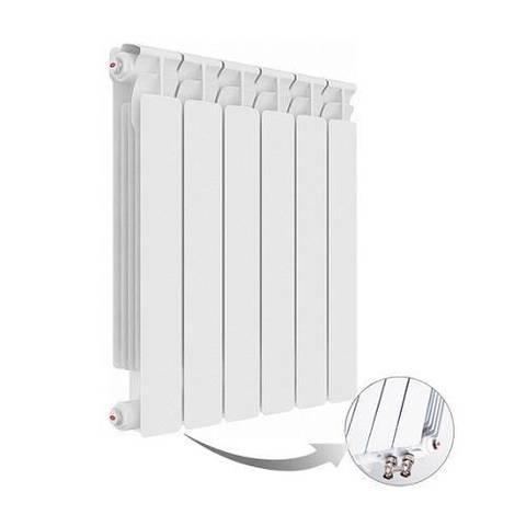 Радиатор биметаллический секционный Rifar Alp Ventil 500 - 9 секций (подключение нижнее левое)
